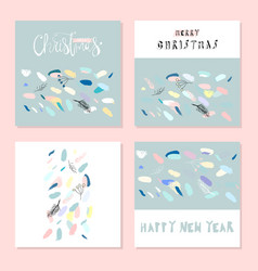 artistic confetti seamless pattern with simple vector image