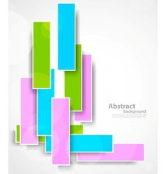Background with rectangles vector image