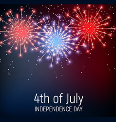 Fourth july independence day united vector