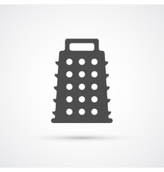 Grater trendy icon vector image