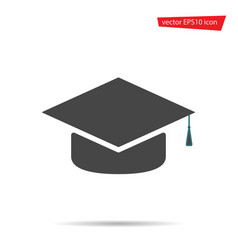 gray education icon isolated on background modern vector image