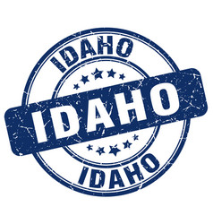 Idaho stamp vector