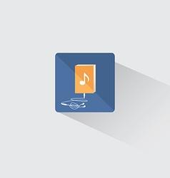Logo audiobook vector