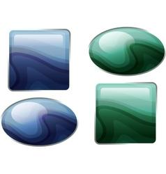 Semiprecious stones vector