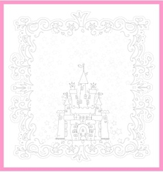 Princess Castle vector image