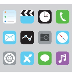 Set of icons for design vector image vector image