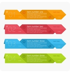 infographics template vector image vector image