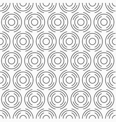 abstract seamless pattern of circles from vector image
