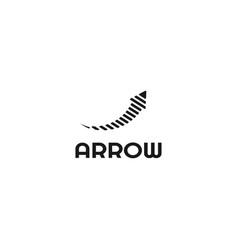 Arrow logo template vector