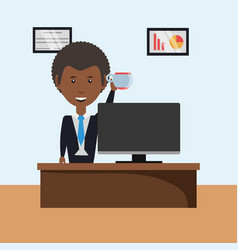 Business character design vector