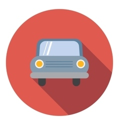 Car icon flat style vector