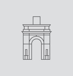 Caracas vector image