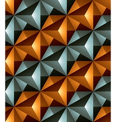 Colorful abstract geometric seamless pattern with vector