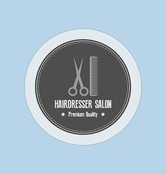 Haridresser Label vector