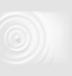 Milk circle ripple concentric splash waves on vector