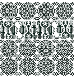 Seamless pattern with peruvian motifs vector