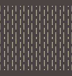 simple beads lines vector image