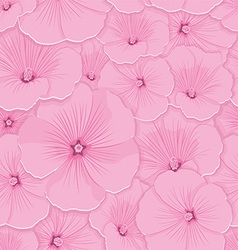 Pattern floral seamless vector image