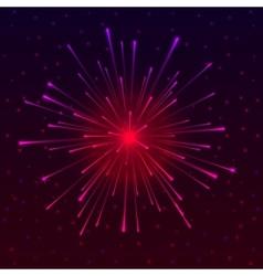 Celebratory fireworks vector