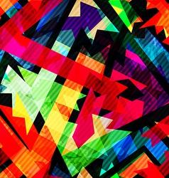 grunge maze seamless pattern vector image vector image