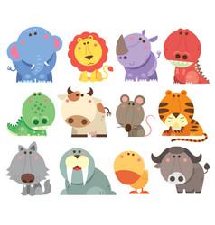 animals cartoons vector image