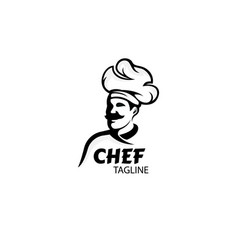 Chef logo simple logo design vector