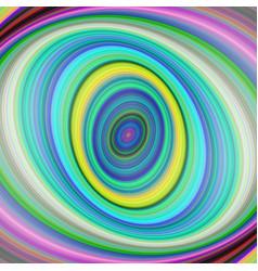 Colorful elliptical digital fractal art background vector