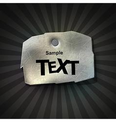 Communication label vector
