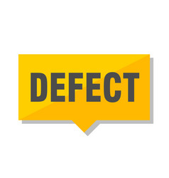 Defect price tag vector