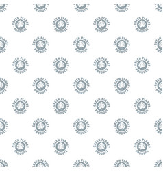 eco planet pattern seamless vector image