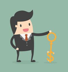 money key vector image
