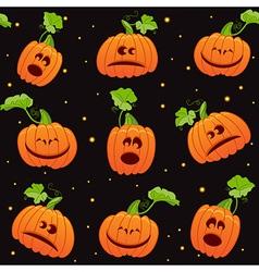 Seamless Halloween background vector