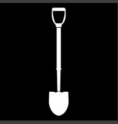 Shovel icon vector