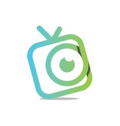Watch tv vector