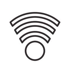 Wifi signal internet design vector