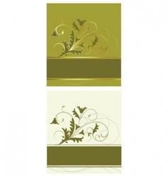 flowerbackground vector image