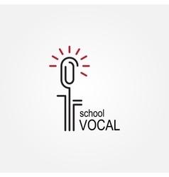 Microphone Icon Record Icon vector image