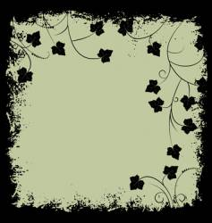 grunge frame and border vector image