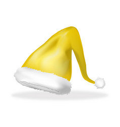 christmas elf hat icon symbol design isolated on vector image