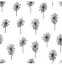 Cute seamless hand drawn pattern vector