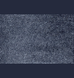 Dark blue and grey denim texture vector
