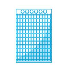 note book sheet vector image