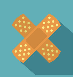 Patch icon flat style vector