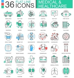 medical healthcare medicine modern color vector image
