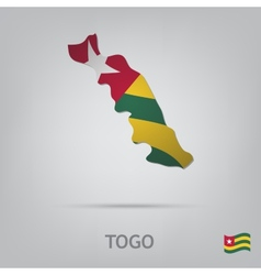 country togo vector image vector image