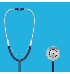 Doctor stethoscope concept vector image