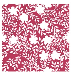 Abstract Elegance seamless floral pattern backgrou vector image vector image