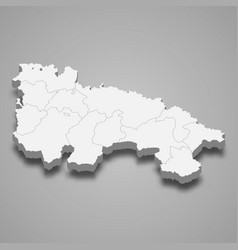 3d region spain vector