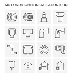 Air conditioner tool vector