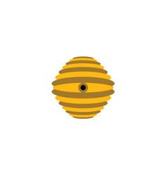 bee nest logo icon design element vector image